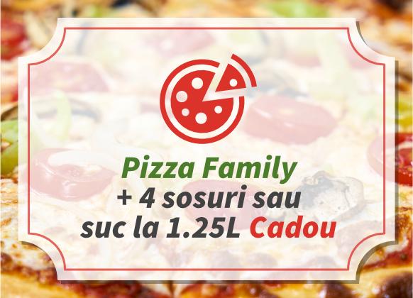 Oferta pizza family